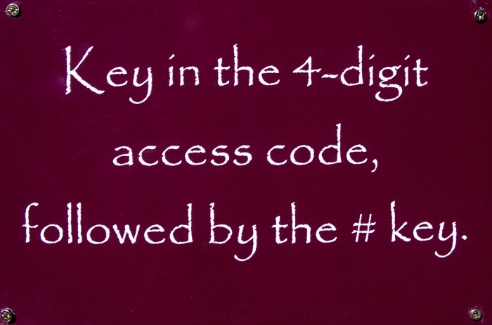 Keypad operation