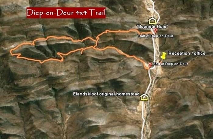 Witteberg Nature Reserve - Diep-en-Deur Trail