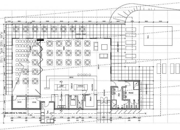 New Central Resort Facilities - Plan