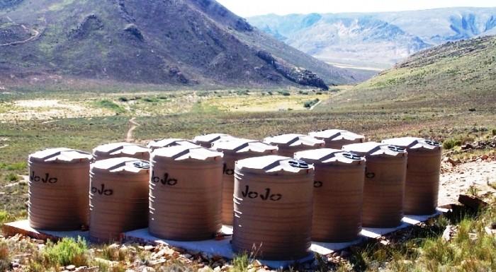 Water storage tanks - 80 kilolitre