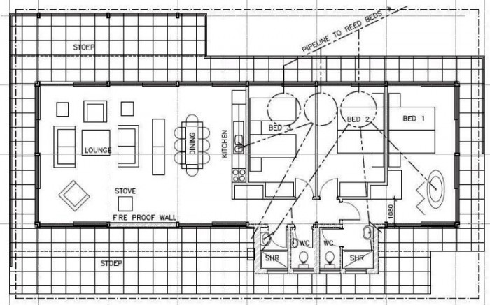 Floor Plan - Three-bedroom Holiday Homes