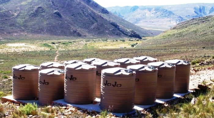 Water storage tanks - 80 kilolitre